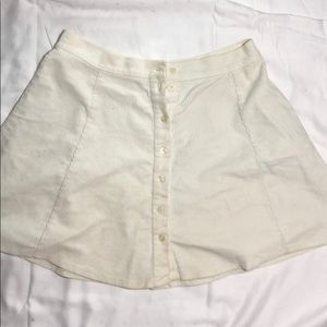 Brandy Melville Corduroy Skirt (One Size)